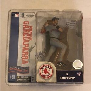 Nomar Garciaparra Red Sox white Jersey in case